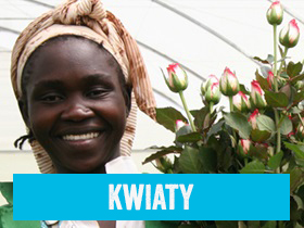 Kwiaty Fairtrade