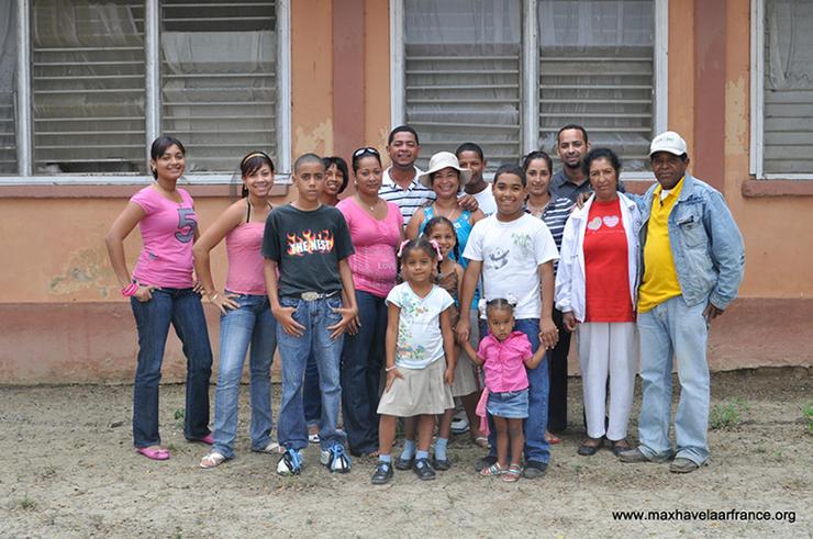 Rolnicy ze spółdzielni CONACADO wraz ze swoimi rodzinami