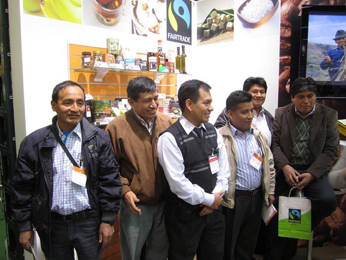 Rolnicy ze związku spółdzielni CECOVASA z wizytą na targach BIOFACH