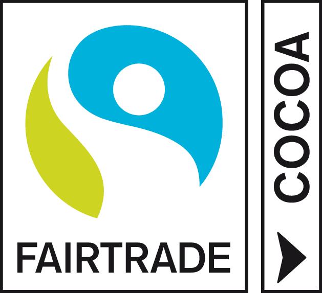 Znak FAIRTRADE dla jednego surowca - np. dla kakao