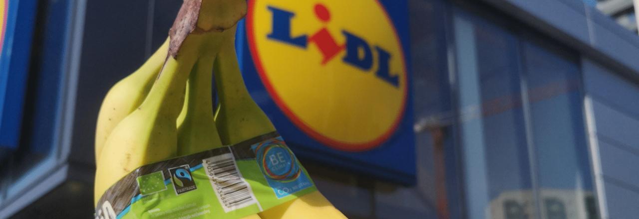 Banany Fairtrade w Lidlu